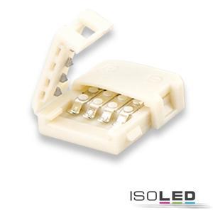 Flexband Clip-Verbinder 2-polig, weiß für Breite 10mm