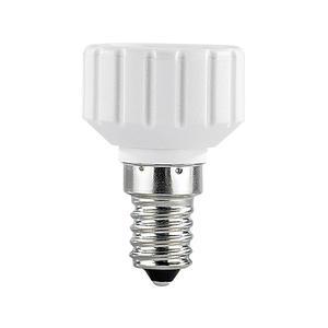 Lampensockel Adapter E14 auf GU10, Keramik