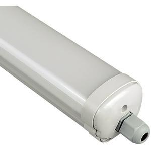 LED Feuchtraum Linearbalken 150cm 48W 3840 lm, IP65 4000K Neutralweiß opal
