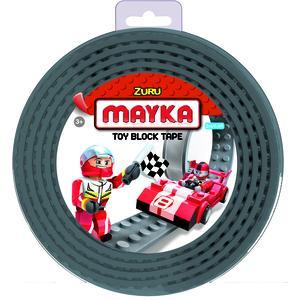 ZURU MAYKA Block Tape S 2-reihig 2 Meter - grau