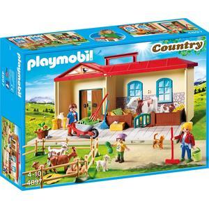 Playmobil 4897 – Country – Mitnehm-Bauernhof