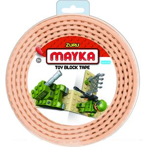 ZURU MAYKA Block Tape S 2-reihig 2 Meter -sand