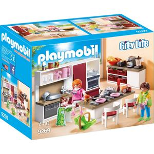 Playmobil 9269 – City Life – Große Familienküche