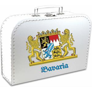 Pappkoffer bedruckt - Motiv: Bavaria
