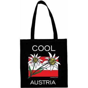 Shopping Tasche - SCHWARZ - Motiv: Cool Austria