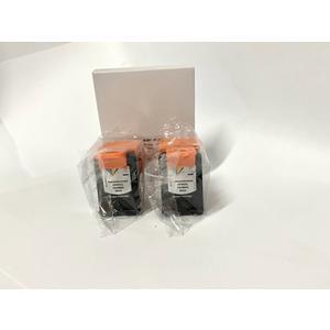 Tintenpatrone Doppelpack wiederaufbereitet - kompatibel für HP 302 XL black
