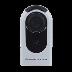 MLINE, Supertooth HD Plug & Play Freisprechanlage für Bluetooth fähige Geräte, Weiss