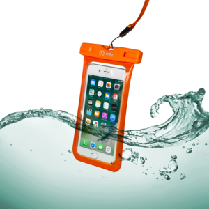 Wasserdichte Hülle SPLASHBAG für Smartphones bis 6,2 Zoll