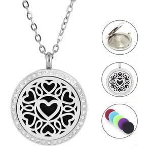 Herz Edelstahl Halskette | Parfumkette
