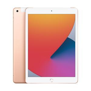 iPad Wi-Fi + Cellular, 128GB, gold, 10.2 Zoll (8.Gen.)