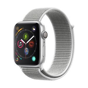 Apple Watch Series 4 Aluminiumgehäuse, Silber, mit SportLoop, Muschel 44mm
