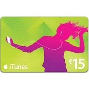 iTunes Karte 15 EUR nur AT Account