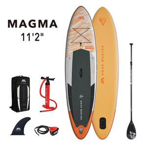 AQUA MARINA Stand Up Paddle Magma 340x84cm SUP aufblasbar (Schlauchboot, Kanadier, Schlauchkanu, Kanu, Freizeit, Angel, Ruderboot, Paddelboot, Canadier, Fluss, See) SONDERAKTION ! - Kopie