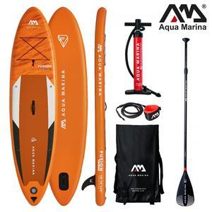 AQUA MARINA Stand Up Paddle Fusion 330x81cm SUP aufblasbar (Schlauchboot, Kanadier, Schlauchkanu, Kanu, Freizeit, Angel, Ruderboot, Paddelboot, Canadier, Fluss, See) SONDERAKTION !