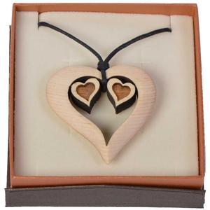 Zirbenkette - Herz trifft auf 2Herzen