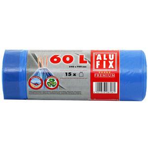 AluFix, Müllsäcke 60Liter 20Säcke mit Zugband
