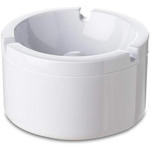 Mepal Aschenbecher mit Deckel, Weiß