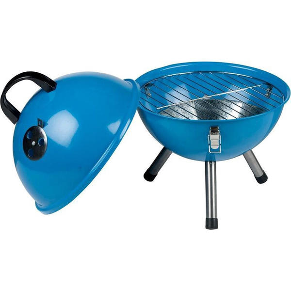 BBQ Kohlegrill Blau rund