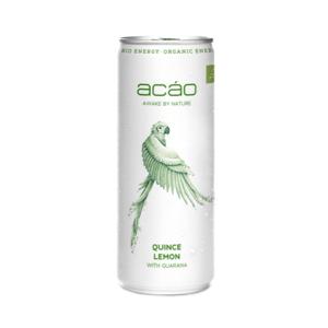 Acáo Bio Energy Drink Quitte Zitrone (250ml)