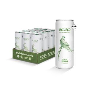 Acáo Bio Energy Drink Quitte Zitrone Tray (24x250ml)