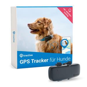 Tractive GPS Tracker für Hunde mit Aktivitätstracking und unbegrenzter Reichweite