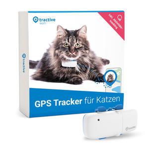 Tractive GPS Tracker für Katzen mit Aktivitätstracking und unbegrenzter Reichweite