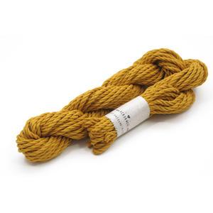 Makramee Garn 3.0 mm - Farbe Senf - 100% Premium Baumwolle