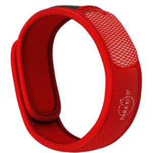 Insektenschutz Armband Erwachsen Rot