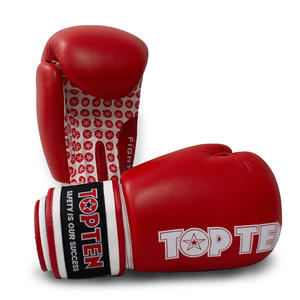 "Boxhandschuhe ""Fight"" - rot, 10 oz"