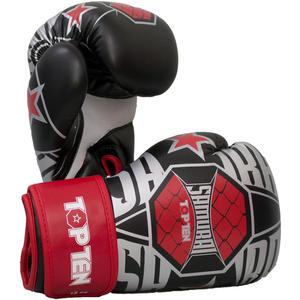 """Boxhandschuhe """"SAMURAI XLP"""" - 10 oz, weiss-rot"""