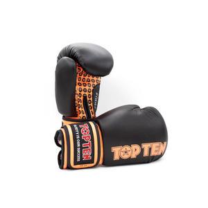"Boxhandschuhe ""Fight"" - schwarz-orange, 10 oz"