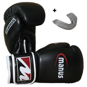 Box-Starterset mit Boxhandschuhen und Zahnschutz
