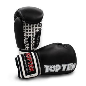 "Boxhandschuhe ""Fight"" - schwarz, 12 oz"