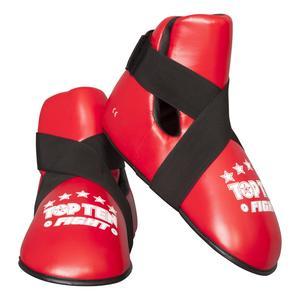 """Fußschutz """"Fight"""" Größe 44-46 rot"""