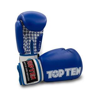 "Boxhandschuhe ""Fight"" - blau, 10 oz"
