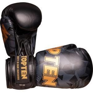 "Boxhandschuhe ""PRISM"" - Standard, schwarz-gold, 10 oz"