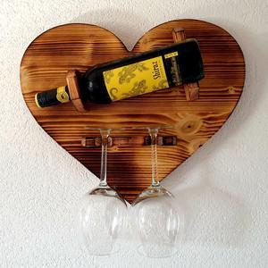 Weinhalter Sekthalter Herz