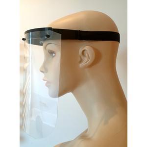 Face shield - Gesichtsvisier - Schutzmaske - Mundschutz - Schutzschild