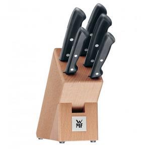 WMF Messerblock Classic Line 6-teilig (5 Messer, 1 Block)