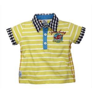 Bondi Polo-Shirt Speedway Baby Boy Sommer Größe 68 gelb
