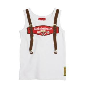 Bondi Unterhemd Tracht Größe 98 weiß