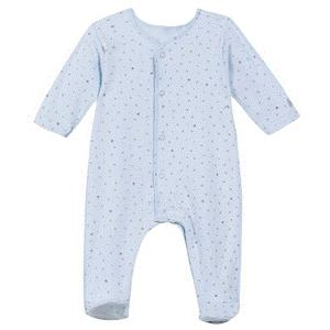 Absorba Babystrampler Bio blau Eule Größe 68/ 6 Monate