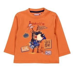 T-Shirt glatt gestrickt für baby junge