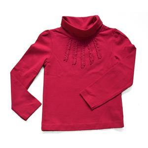 Shirt mit Rüschen und Rollkragen Größe 122