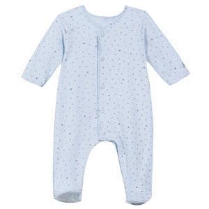 Absorba Babystrampler Bio blau Eule Größe 62/ 3 Monate