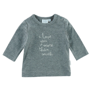 T-shirt l/A I love you more Owl Love You