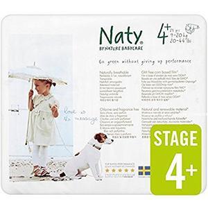 Windel Größe 4+ (9 - 20 kg) 25 Stück Naty