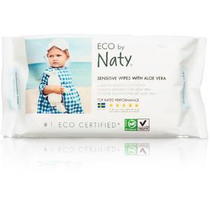 Feuchttücher Sensitive mit Aloe vera 56 Stück Naty