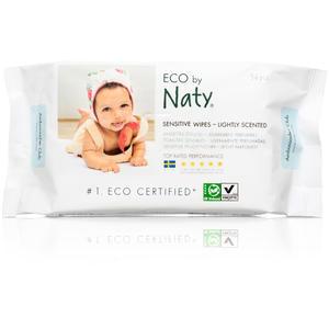 Feuchttücher Sensitive mit leichtem Duft 56 Stück Naty