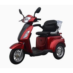 eycos BEST AGER Elektromobil, Sniorenmobil, Elektro-Dreirad, Elektroroller ROT